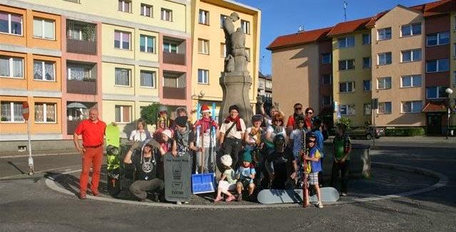 World Wide Flash Mob XI, Lwówek Śląski, geocaching