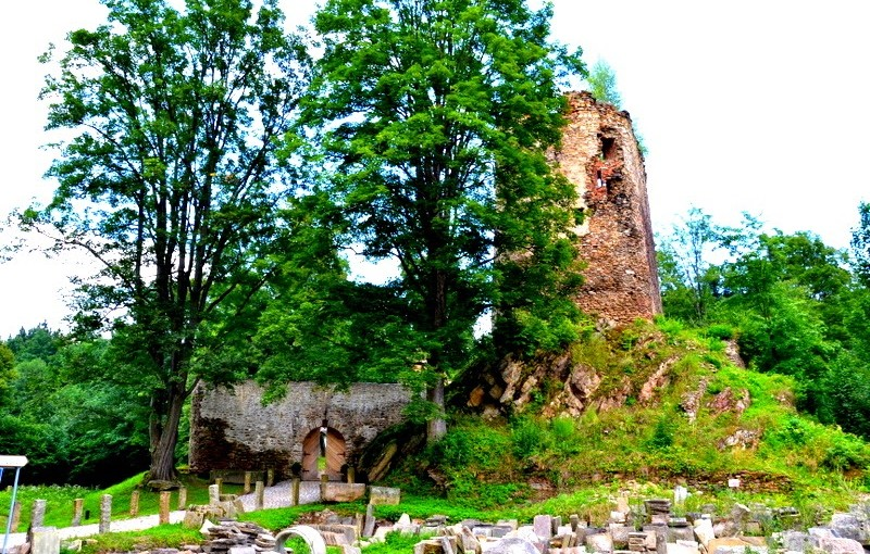 Zamek w Świeciu, geocaching