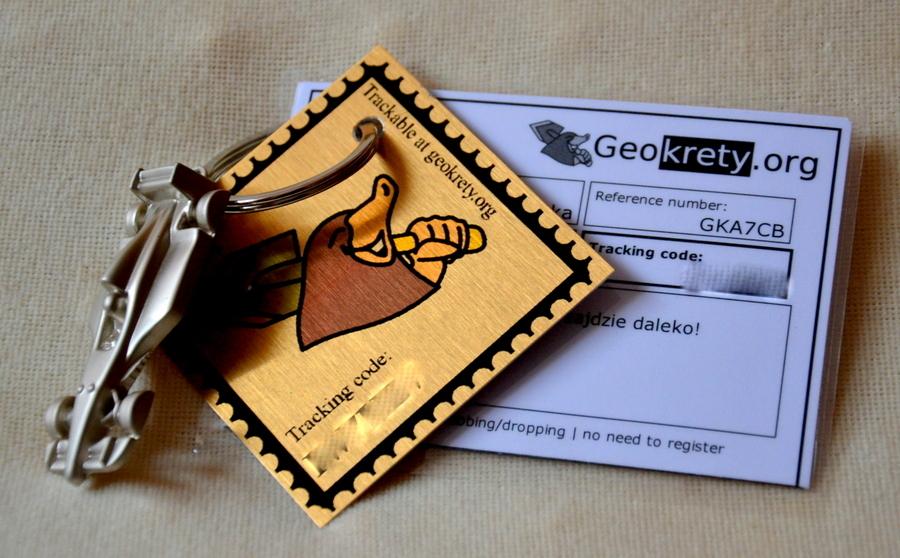 GeoKret, geocaching, przedmioty podróżne