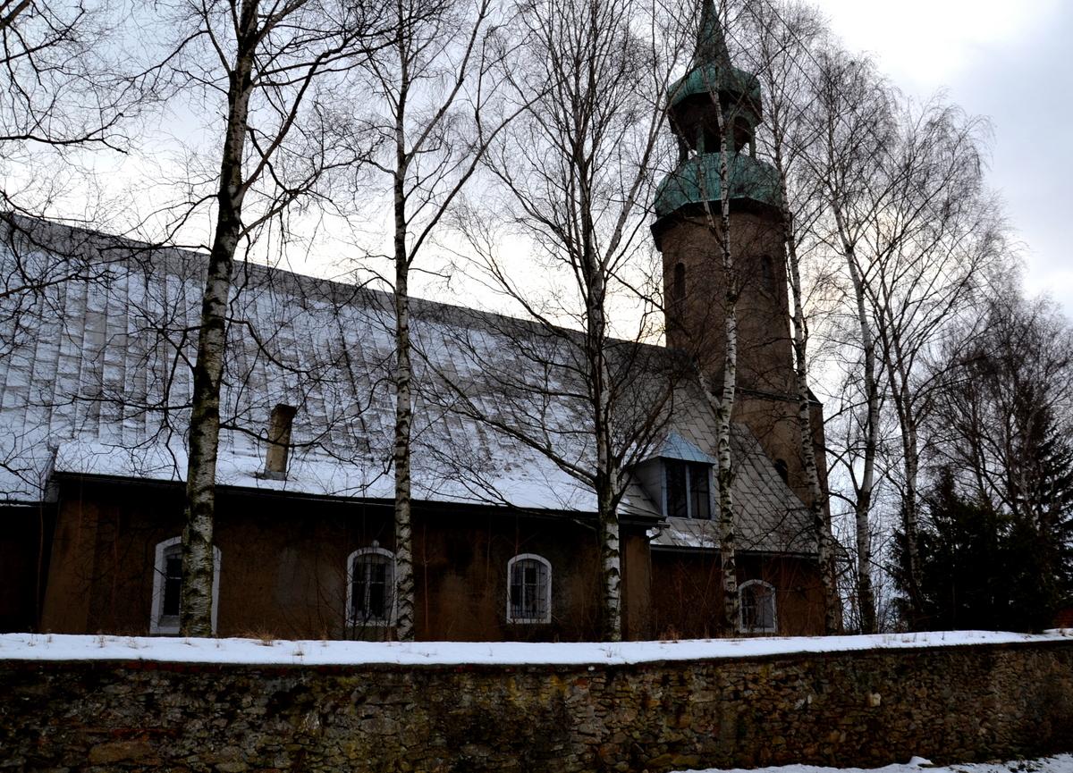 Kościół pw. św. Michała Archanioła w Giebułtowie, geocaching