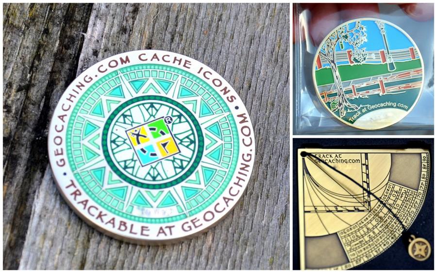 Geocoins, Travel Bug, geocaching, przedmioty podróżne