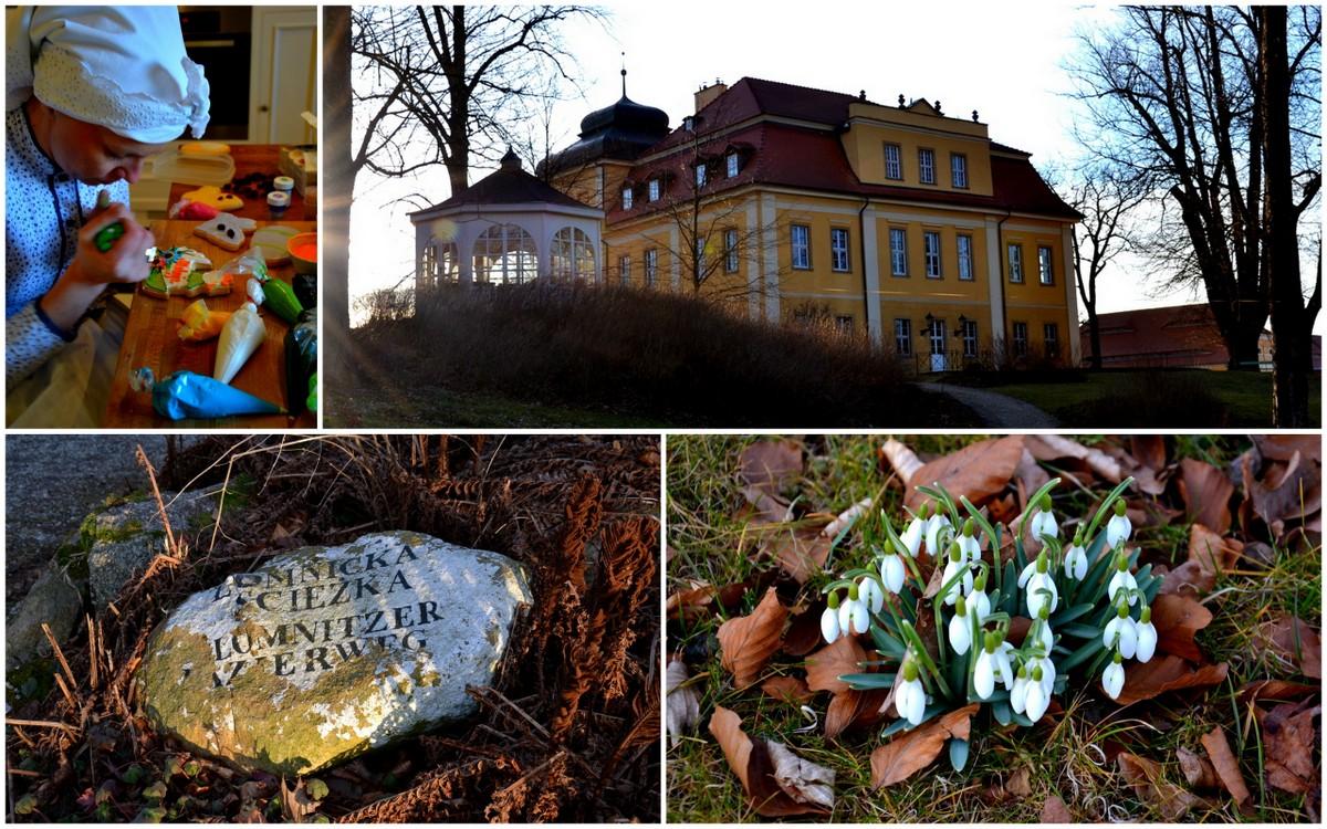 Wiosenny kiermasz w Pałacu Łomnica, geocaching
