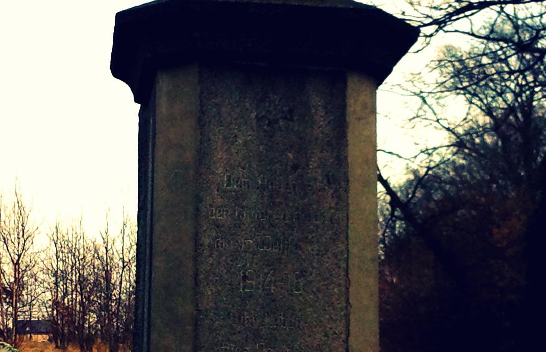 Pomnik poległych w I wojnie światowej, Lubań - Uniegoszcz