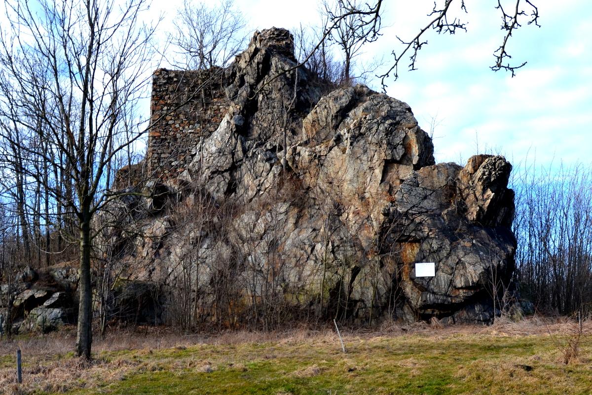 Zamek Podskale w Rząsinach, geocaching
