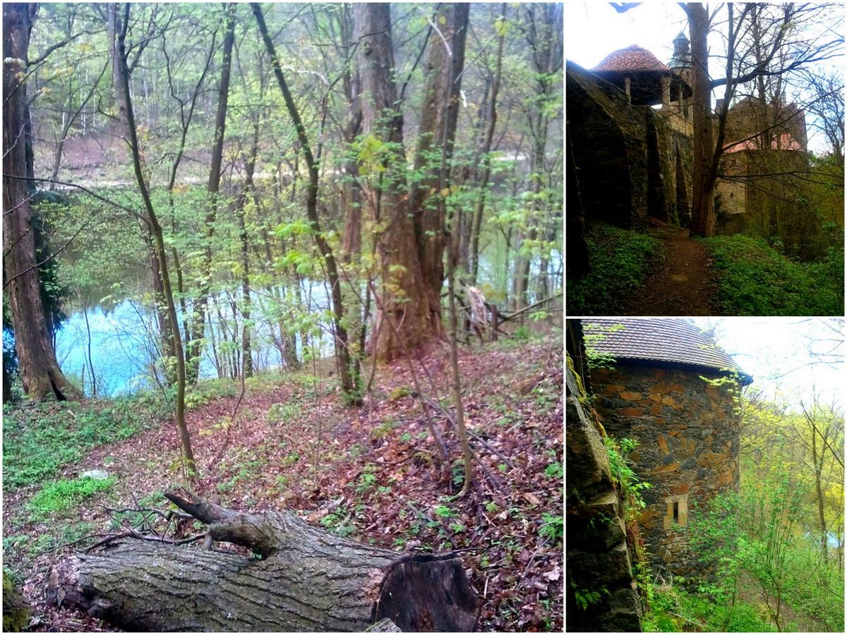 Geocaching, okolica zamku Czocha