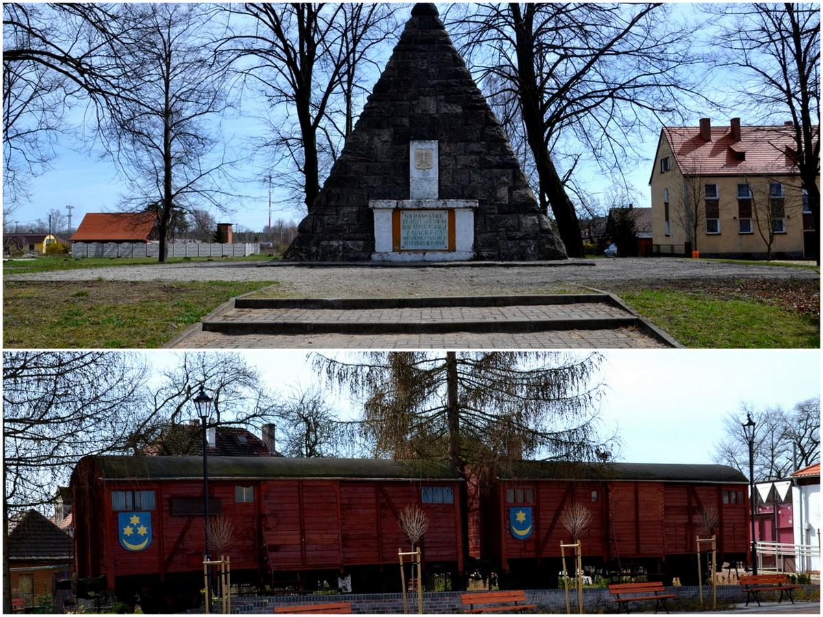 Węgliniec, Muzeum Kresów Wschodnich i pomnik złączenia ziemi dolnośląskiej z macierzą, geocaching