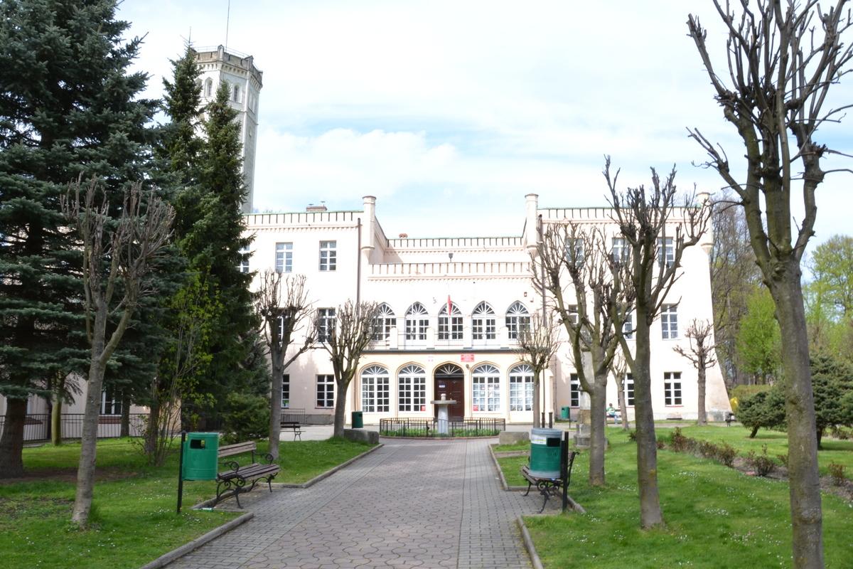 Geocaching, Pałac w Mysłakowicach
