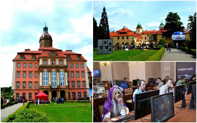 Zamek Książ, Game Days, geocaching