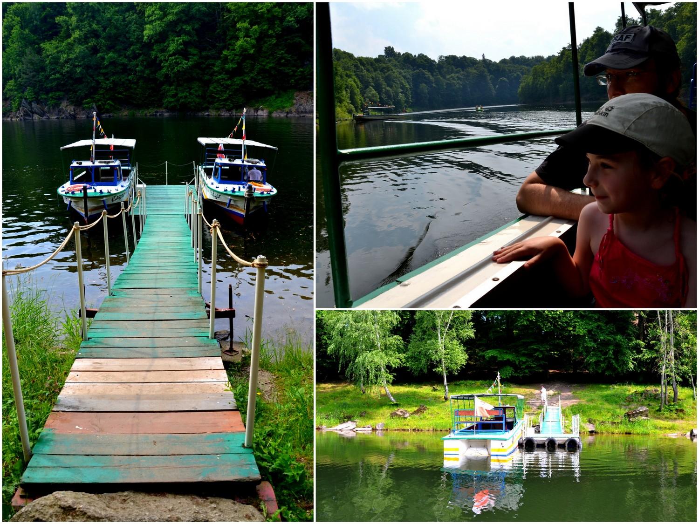 Rejs łodzią spacerową po Jeziorze Leśniańskim