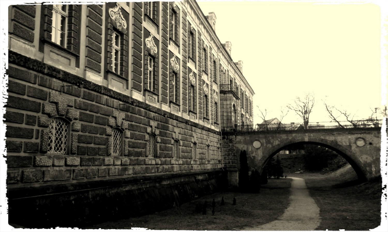 Pałac Książęcy w Żaganiu, geocaching