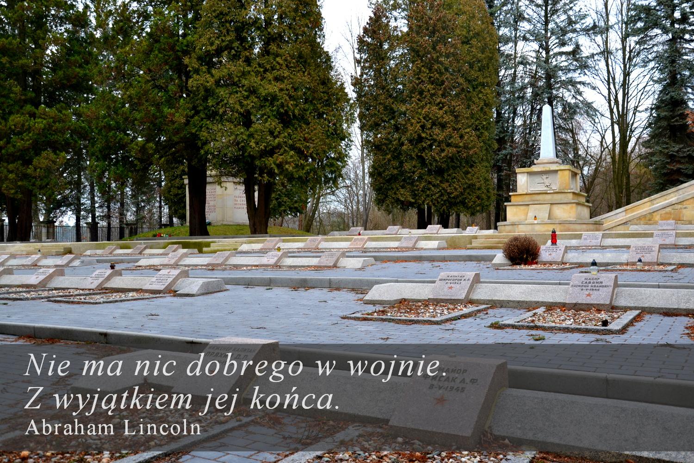 Bolesławiec. Cmentarz wojenny im. Michaiła Kutuzowa. Geocaching