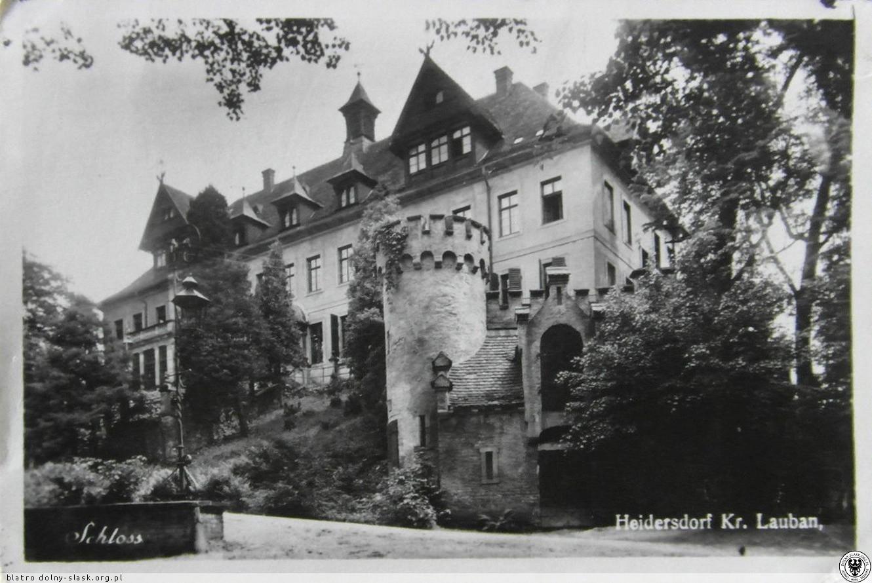 Pałac we Włosieniu 1941 r.
