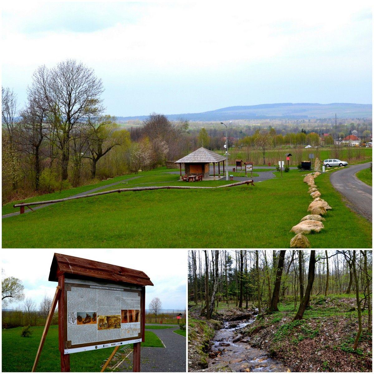 Geopark Krobica, geocaching