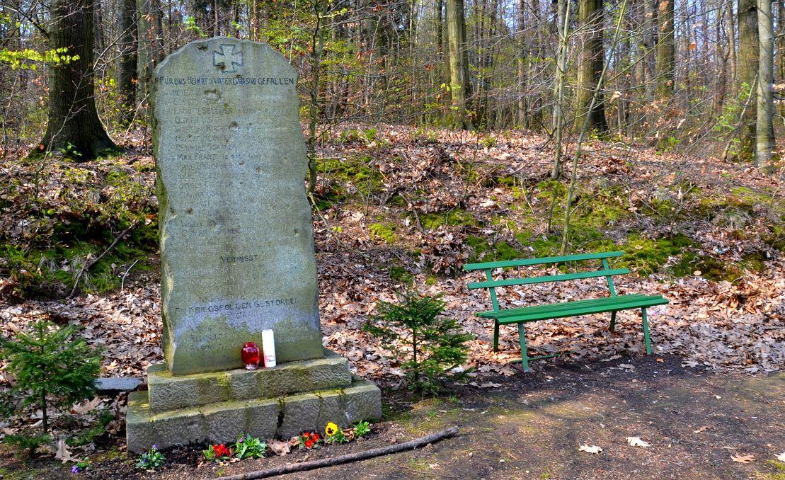 Geocaching, Pomnik poległych w I wojnie światowej w Jasnej Górze