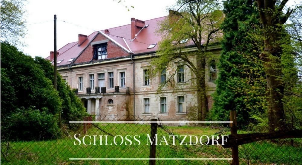 Geocaching - pałac w Maciejowcu