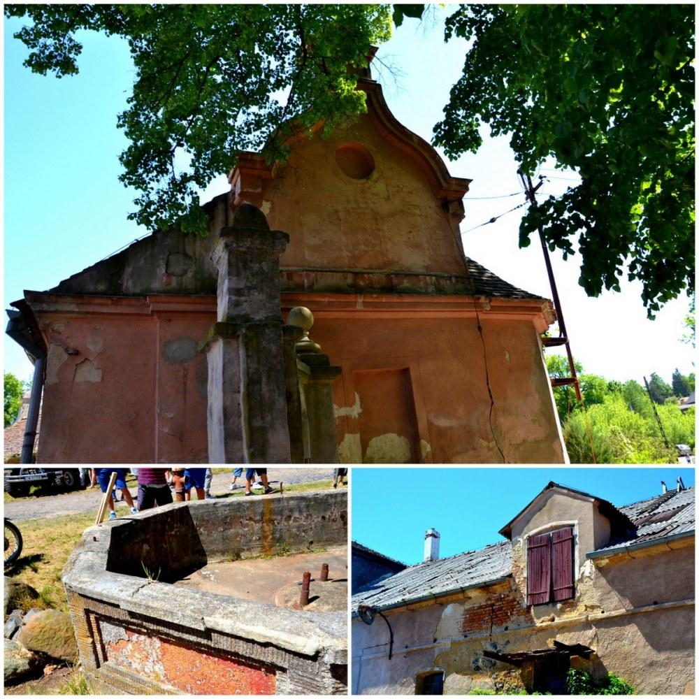 Pałac w Mikułowej, zabudowania gospodarcze