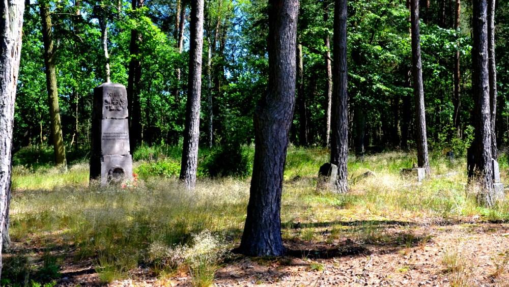 Geocaching, Patoka, dawny cmentarz