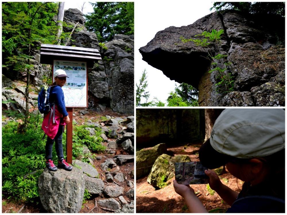 Geocaching, trasa na Wysoki Kamień
